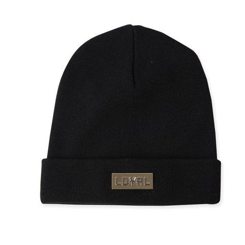 """LOYAL"" Beanie- Black"