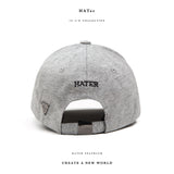 HATER Side Label Low Profile Cap
