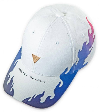 HATER PVC Flame Cap - White