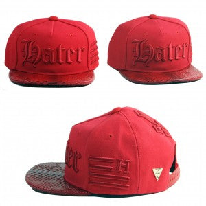 Gothic Snapback - Red