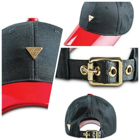 HATER Bright Leather Cap - Red