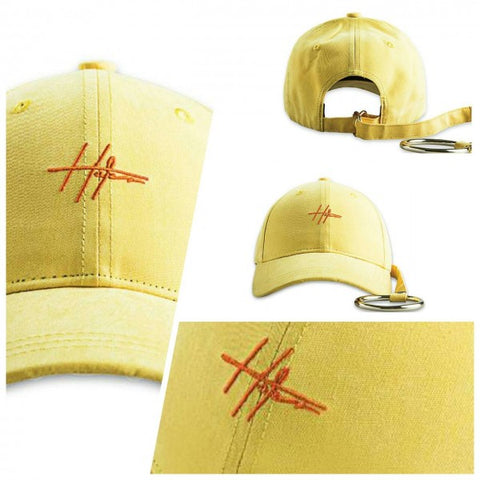 HATER Long Strap D-Ring Cap - Light Yellow