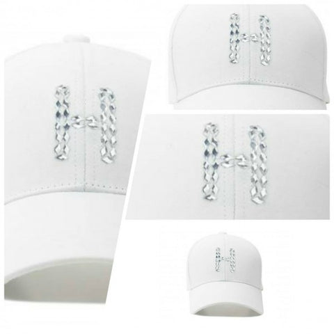 "HATER ""H"" Diamond Cap - White"