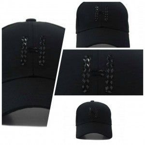 "HATER ""H"" Diamond Cap - Black"