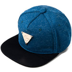 Heather Indigo Blue Snapback