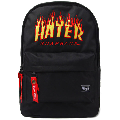 Flame Backpack - Black