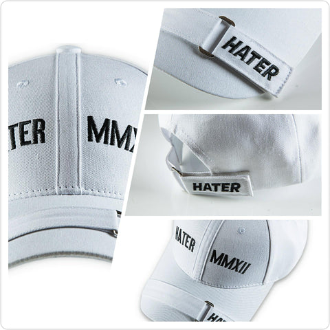 HATER Force Cap - White