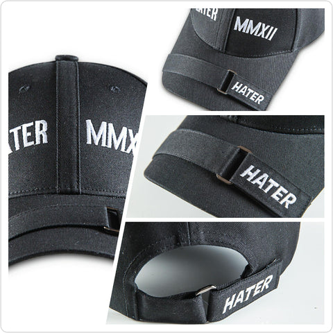 HATER Force Cap - Black