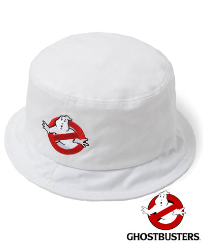 Official Ghostbusters Collab Bucket Hat - White