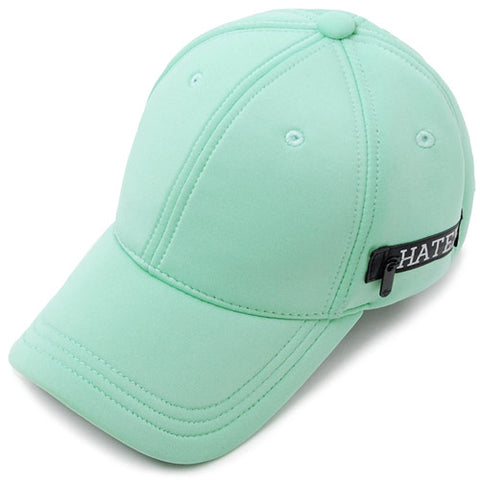 Neoprene Zippered Snapback - Teal