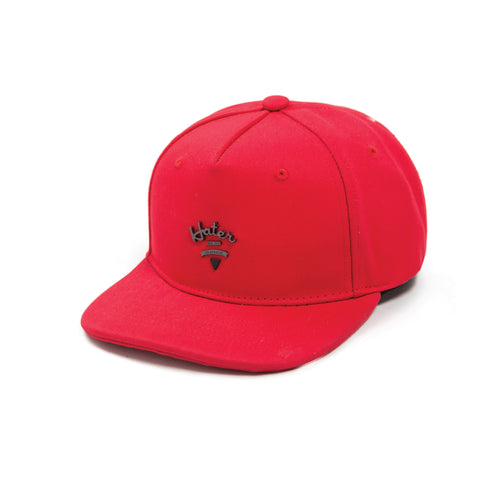Curved Logo Snapback - Red