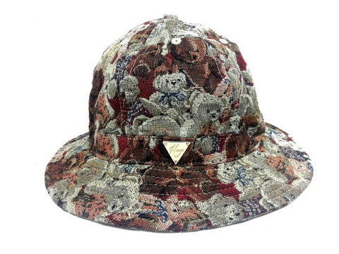 Small Bear Print Bucket Hat