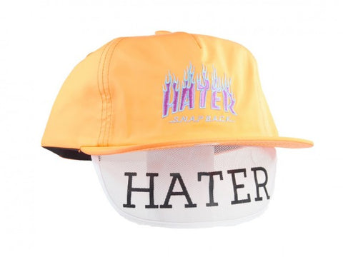 HATer Flame Snapback - Orange/Blue/Purple