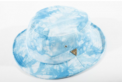 Tie Dye Bucket Hat - Blue