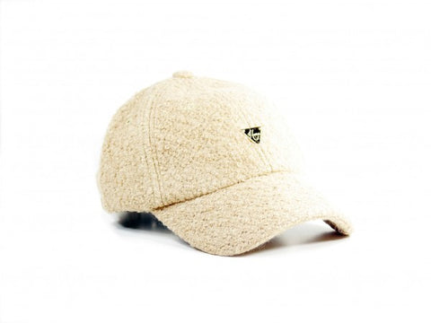 Boucle Unstructured Strapback - Tan