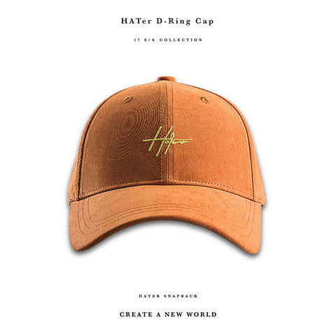 HATER D-Ring Cap - Orange