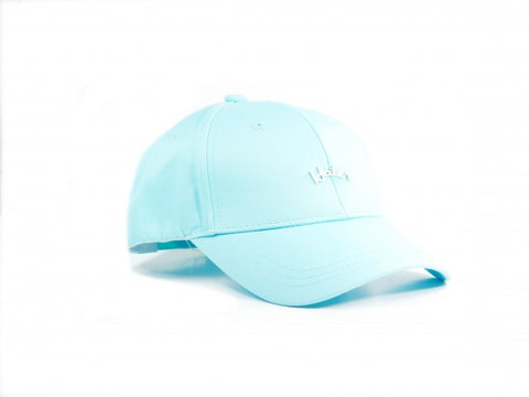 Curved Logo Structured Snapback - Light Blue