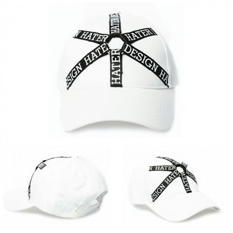 HATER Tork Ribbon Cap - White