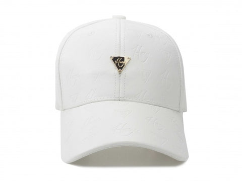 HATER Sensations Logo Cap - White Leather
