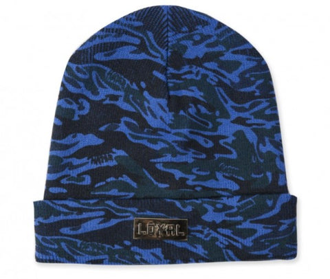 Loyal Beanie - Blue Camo