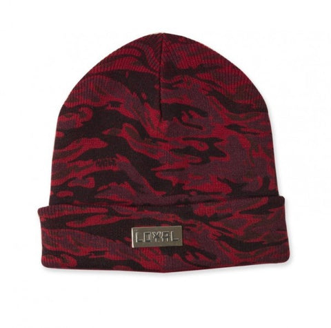 Loyal Beanie - Red Camo