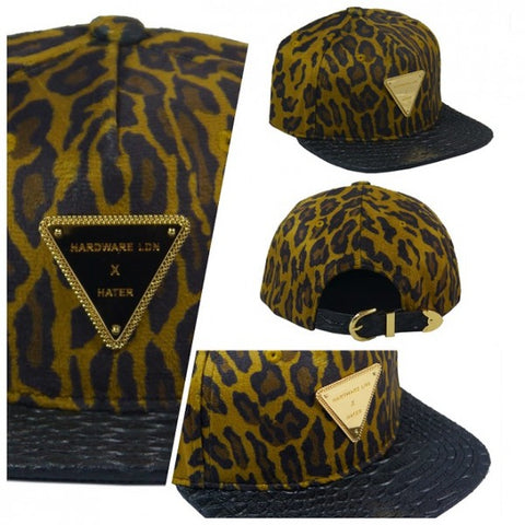Hardware LDN x Hater Collab - Leopard Fur with Snakeskin Brim