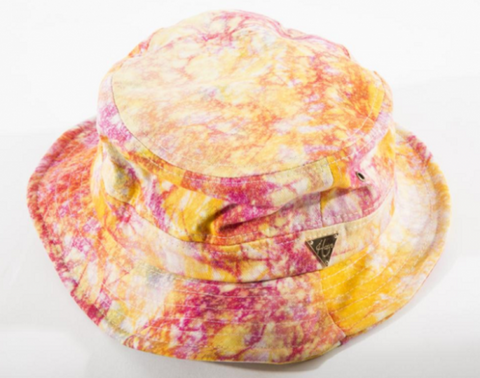 Tie Dye Bucket Hat - Galaxy Pink