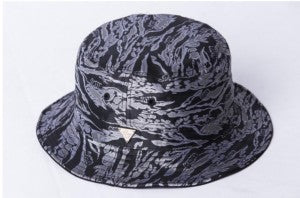 Reversible Jacquard Print Bucket Hat