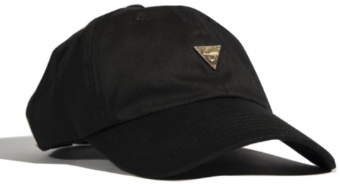 Kids Unstructured Strapback - Black
