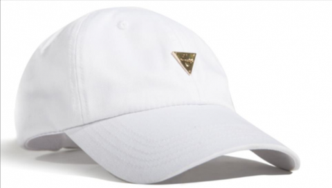 Kids Unstructured Strapback - White