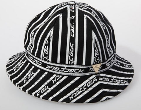 Stripe Hater Bucket Hat - Black