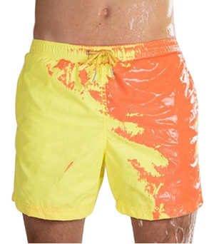 MagicTrunk Hyper Switch Color Changing Swim Trunks Quick Dry Bathing Shorts