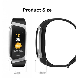Fitband Smart Watch Waterproof Blood Pressure Oxygen Heart Rate Monitor Sport Bracelet