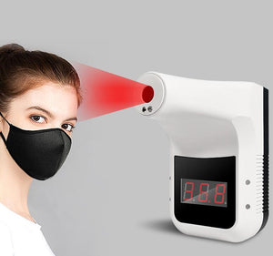 Wall Mounted Fever Alarm Non Contact Forehead Thermometer