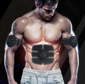 #1 Ultimate Abs Stimulator - EMS ABS Trainer Fit Abdomen/Arm/Leg Training