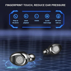Premium In-Ear Wireless Bluetooth 5.0 Headphones Noise Cancelling Earbuds