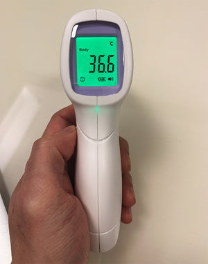 US Fast Shipping No-Contact Infrared Thermometer - 50% Off | Recommended By Doctors (FDA Approved)
