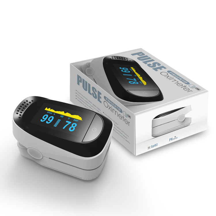 50% OFF - FDA Approved - Fast Shipping | US OxiPro Digital Finger Pulse Oximeter