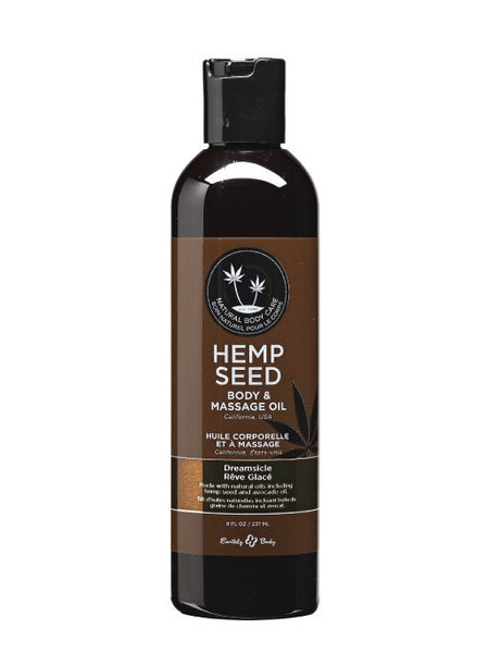 Earthly Body Dreamsicle Hemp Seed Massage & Body Oil - HypeGirls