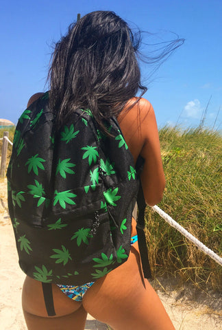 Ganja Girl Backpack
