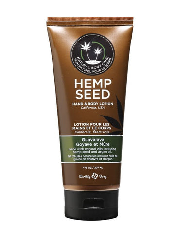 Earthly Body Guavalava Hemp Seed Velvet Lotion