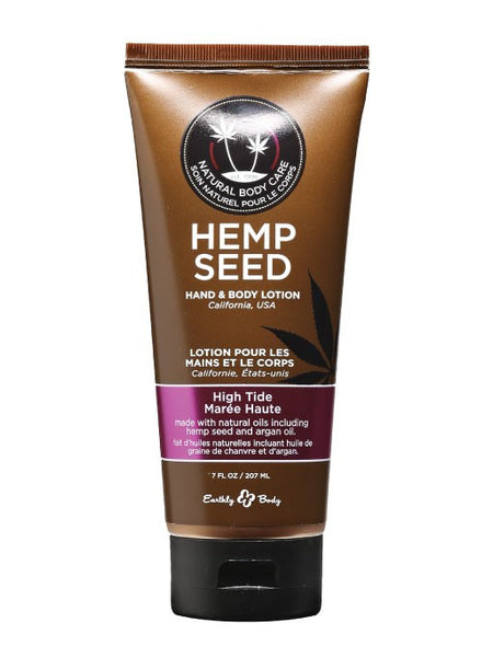 Earthly Body High Tide Hemp Seed Velvet Lotion