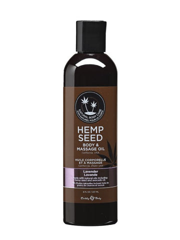 Earthly Body Lavender Hemp Seed Massage & Body Oil