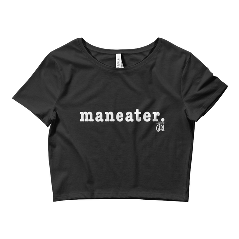 Maneater Fitted Crop Top