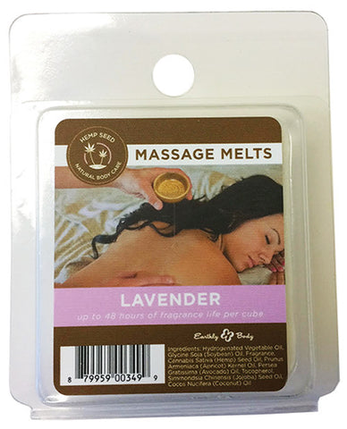 Earthly Body Massage Melts Refill - Lavender