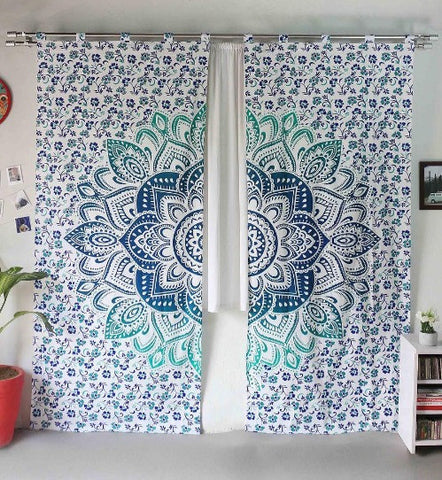 Mayura Mandala Curtains