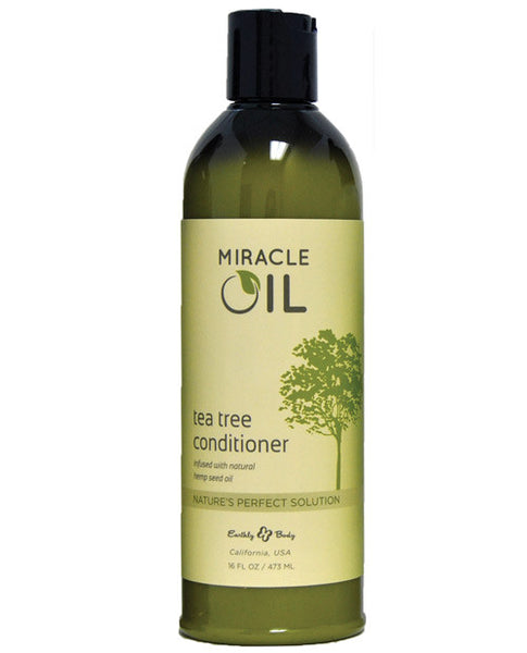 Earthly Body Miracle Oil Tea Tree Conditioner - HypeGirls