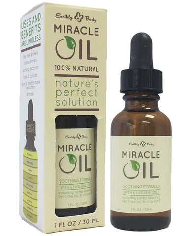 Earthly Body Hemp Miracle Oil - HypeGirls