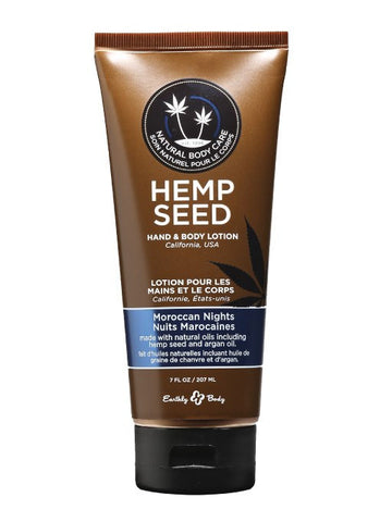 Earthly Body Moroccan Nights Hemp Seed Velvet Lotion