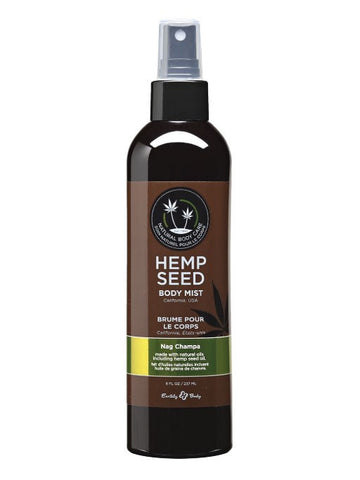 Earthly Body Nag Champa Hemp Seed Body Mist
